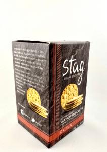 150g box of Stag Stornoway Cajun Water Biscuits