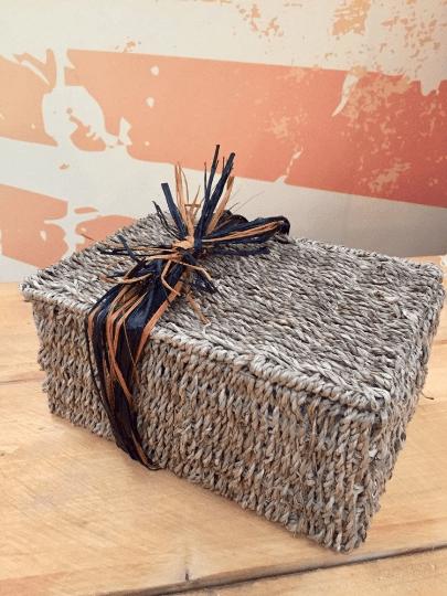 luxury seagrass basket