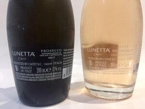 Prosecco bottles