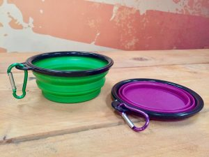 dog treat bowl and plate