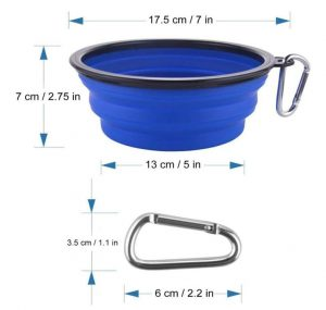 dog bowl dimensions