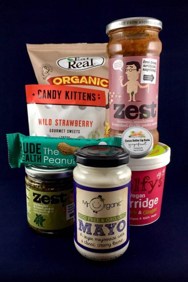 vegan mayo, wild strawberry gourment sweets, porridge