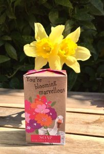 blooming marvellous soap gift box