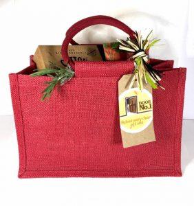 Vegan Hamper - Jute Gift Bag - Vegan Food Hamper - Vegan Gifts