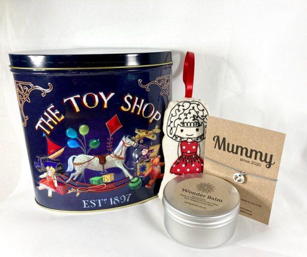 Toy shop tin, wonder balm