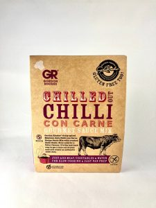 chilled chill con carne gourmet sauce mix
