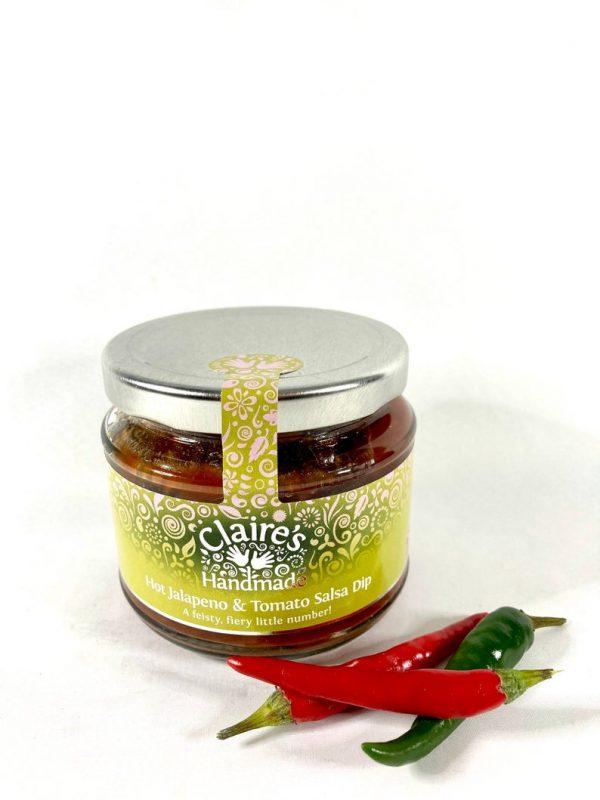 handmade tomato salsa dip