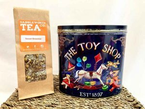 Saddleworth Tea, Toy Shop Tin